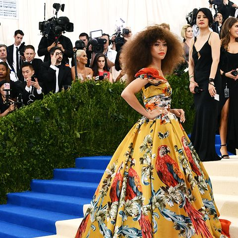 Met Gala 2017 red carpet: Zendaya in Dolce & Gabbana