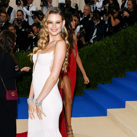 Met Gala 2017 red carpet: Behati Prinsloo in Topshop