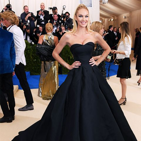 Met Gala 2017 red carpet: Candice Swanepoel in Topshop