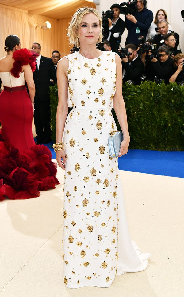 Met Gala 2017 red carpet: Diane Kruger in Prad