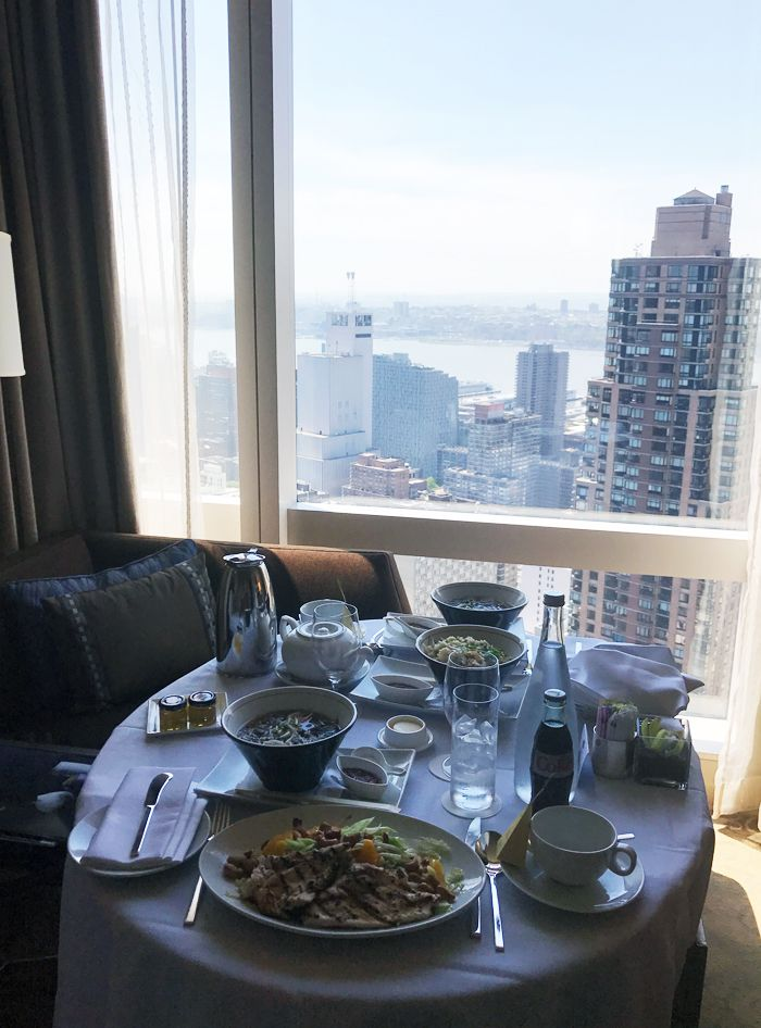 Met Gala Wendy Yu: Breakfast Mandarin Oriental
