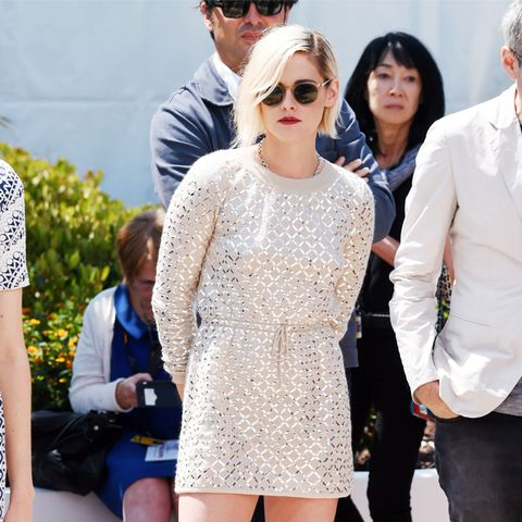 Kristen Stewart style: Chanel mini dress