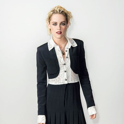 Kristen Stewart style: Chanel skirt suit at Cannes Film Festival