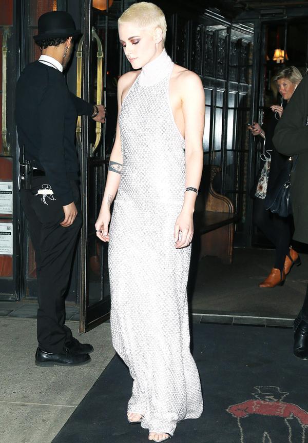 Kristen Stewart style: Chanel gown