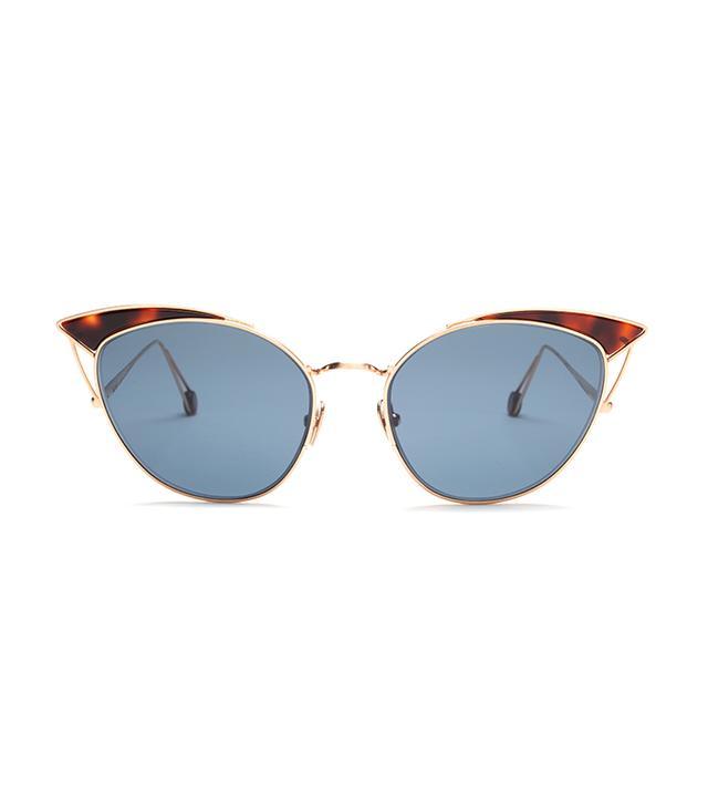 best cat-eye sunglasses: Ahlem place violet