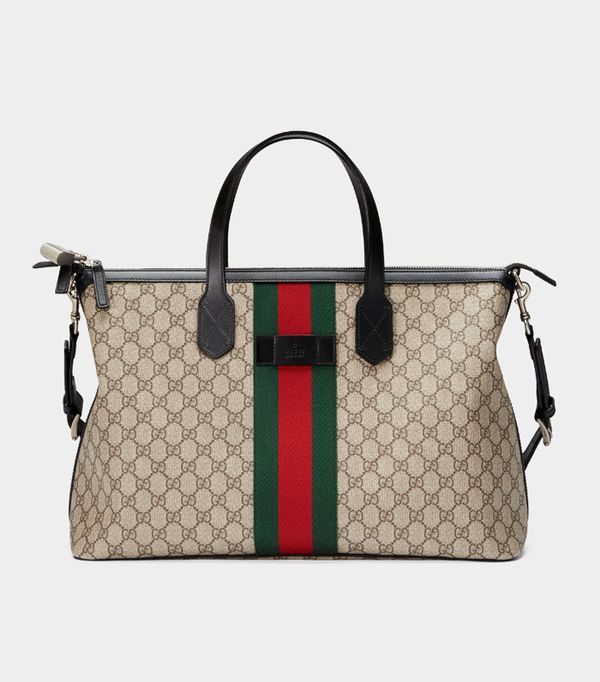 Best travel bags: Gucci airport bag