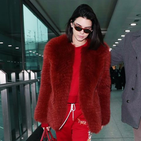 Best travel bags: Kendall Jenner Gucci airport bag