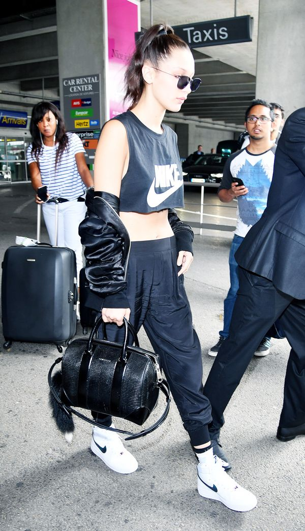 Best travel bags: Bella Hadid Givenchy airport bag