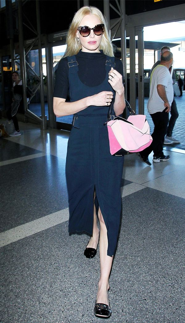 Best travel bags: Kate Bosworth Loewe airport bag
