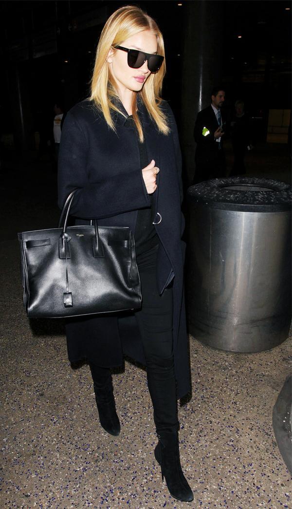 Best travel bags: Rosie Huntington Whiteley airport bag