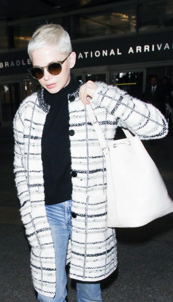 Best travel bags: Michelle Williams airport bag