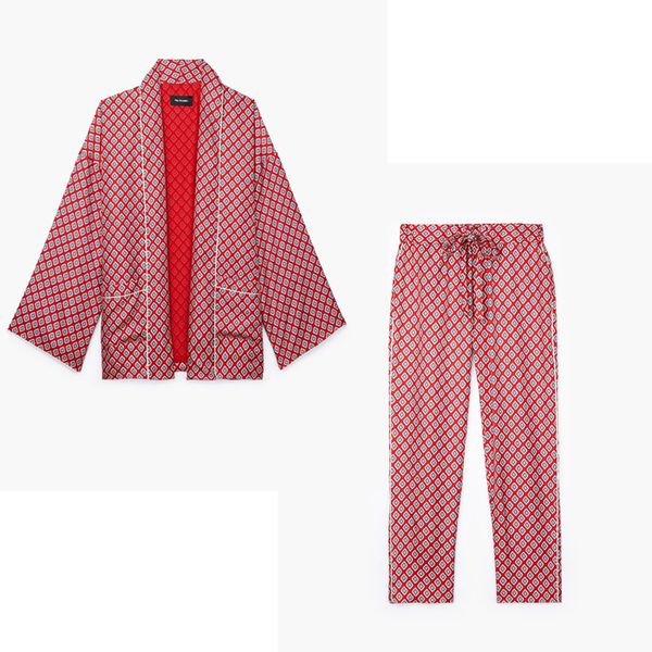 Best Co-Ords: F.R.S Artemide Printed Silk-Twill Shirt and Pants