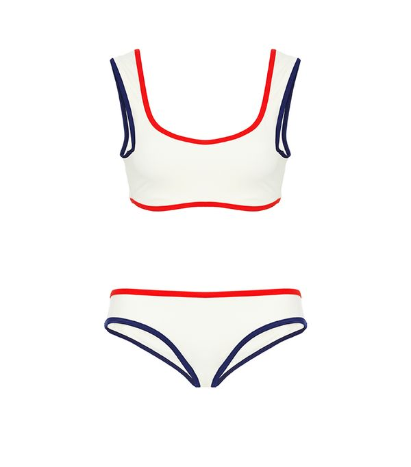 Solid & Striped Elle B Bikini Top