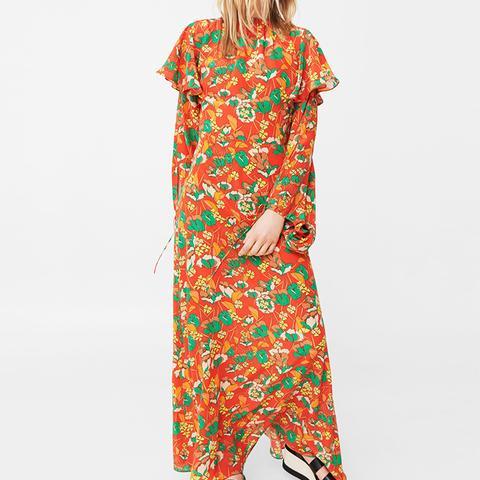 100% Silk Flower Dress