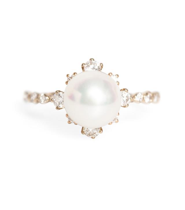 Kataoka Winter Pearl Ring