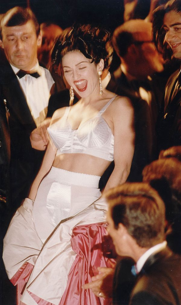 Madonna in the Cannes Film Festival in the 90's