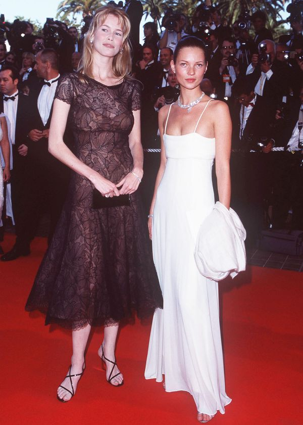 Claudia Schiffer and Kate Moss
