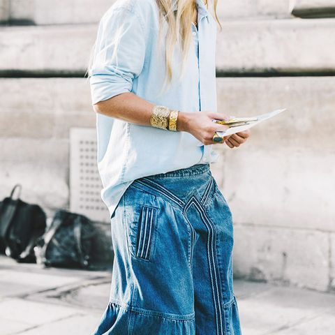 Is This Forgotten Maxi Skirt Trend Officially Back?