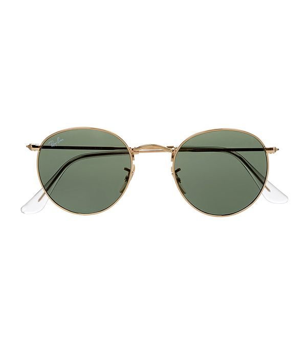 summer dress styles - Ray Ban Round Frame Sunglasses