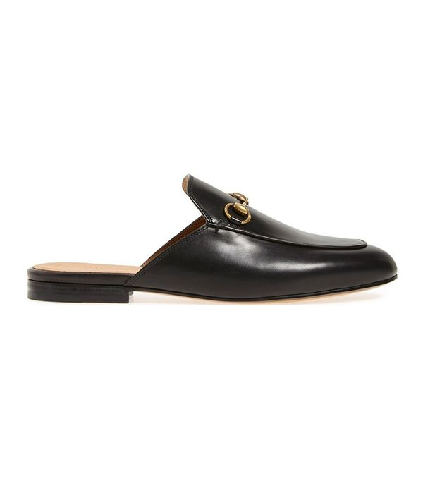 san francisco style - Gucci Princetown Loafer Mule