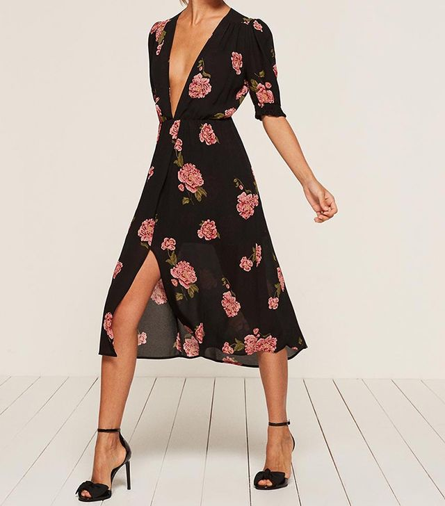 cute weekend outfits -  Reformation Anja Dress