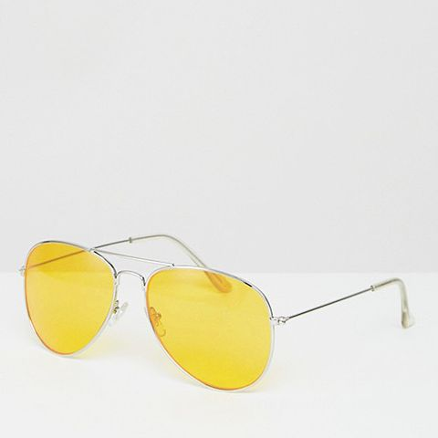 Yellow Tinted Sunglasses