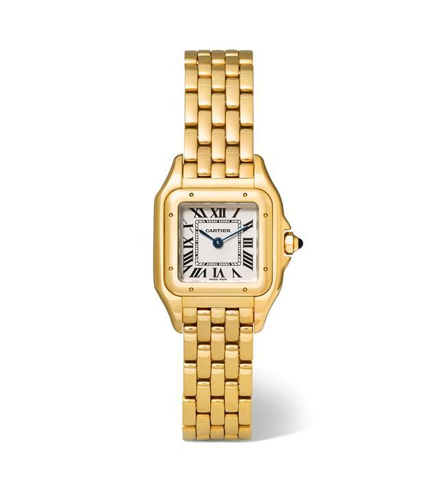 Cartier Panthère de Cartier Small 18-Karat Gold Watch