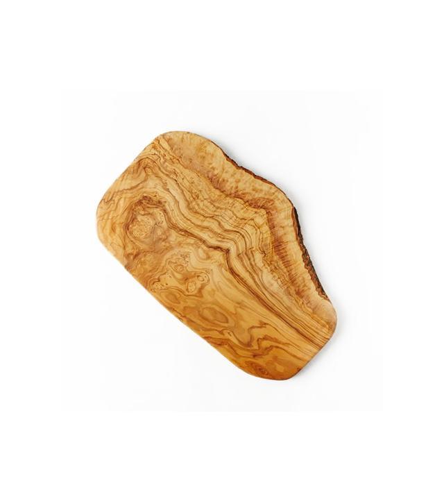 West Elm Olive Wood Rustic Cutting Board