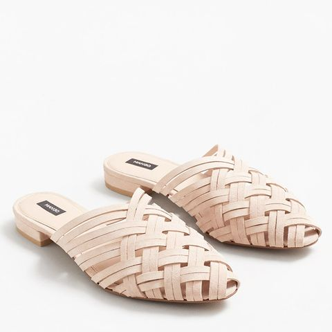Braided Leather Shoes