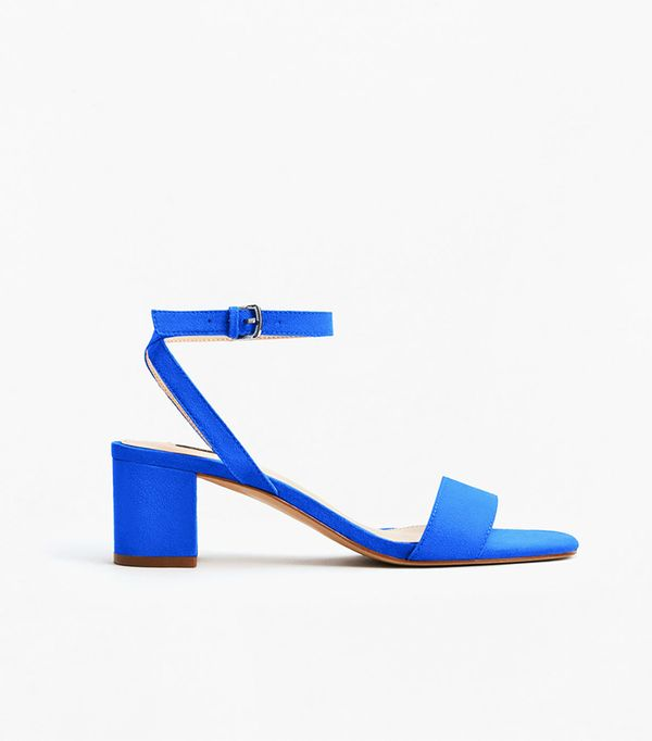 Mango Ankle-Cuff Sandals