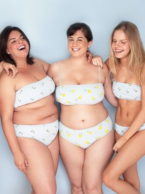 This Cute New Size-Inclusive Swimsuit Line Checks All Our Boxes