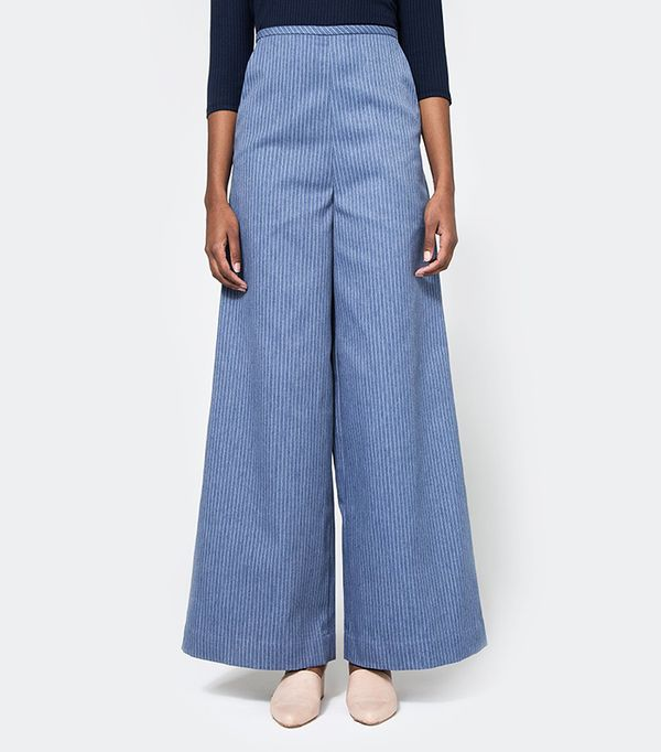 Toit Volant Tita Sailor Cut Wide Leg Pants