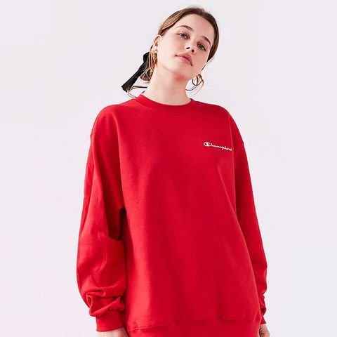 Mini Logo Crew-Neck Sweatshirt