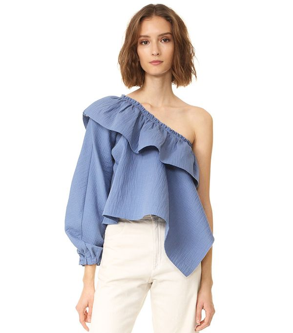 best ruffled top- Rachel Comey Georgia Top