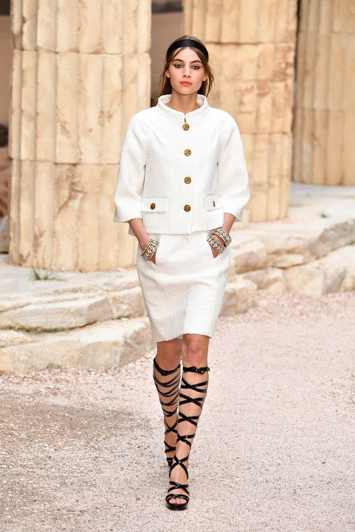 Chanel Cruise 2018 - runway trends