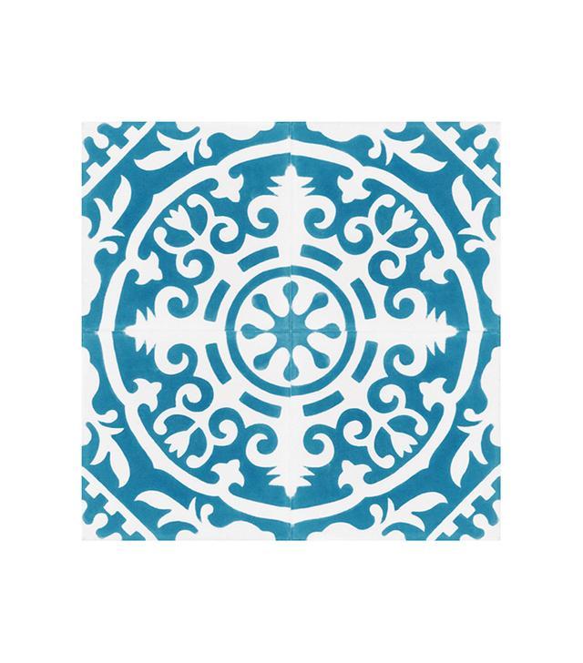 Clay Imports Cement Tile Magnolia Dark Blue