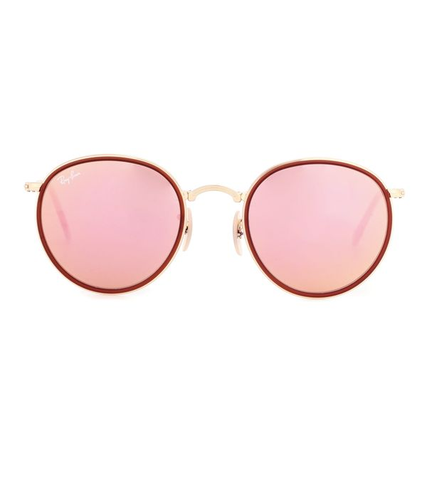 Summer Trend Forecasting: RAY-BAN RB3517 round folding sunglasses