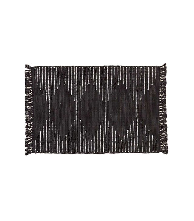 Urban Outfitters Connected Stripe Rag Rug