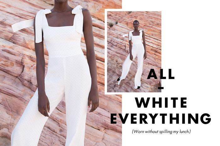 Moda Operandi - white jumpsuit