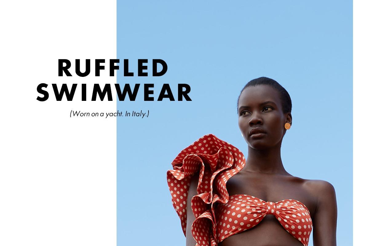 Johanna Ortiz - ruffle bikini swimwear