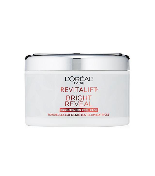 L'Oreal Brightening Peel Pads - drugstore anti aging cream