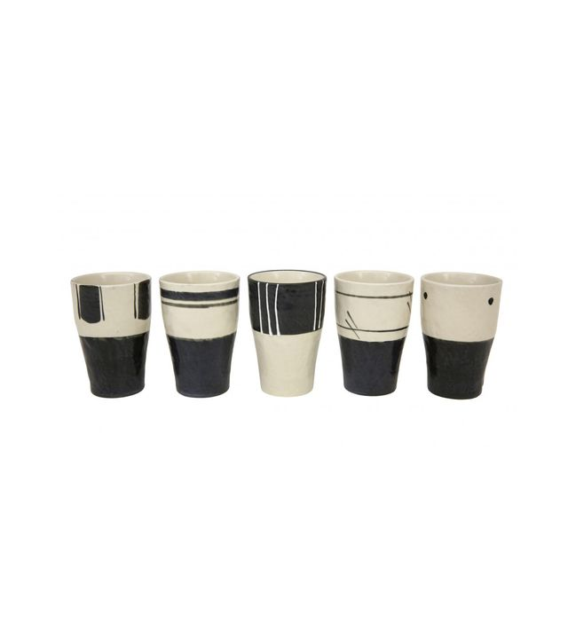 Jayson Home Black and White Cup