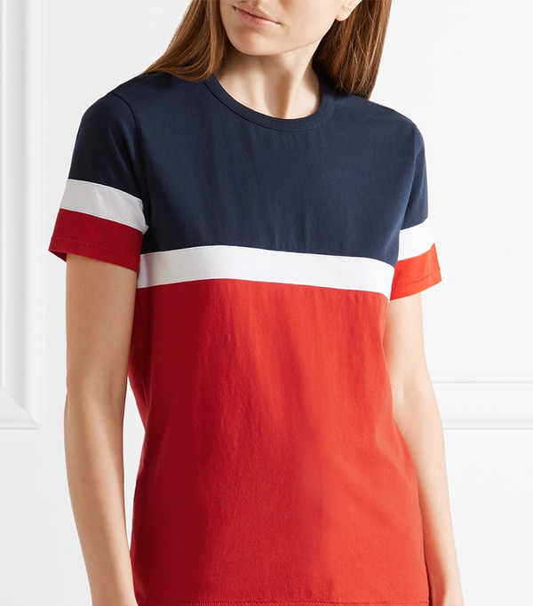 Le Garçon Striped Cotton-jersey T-shirt