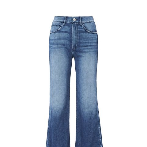 Shelter Wide Leg Cropped Jeans