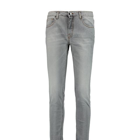Ankle Slim Mid-Rise Jeans
