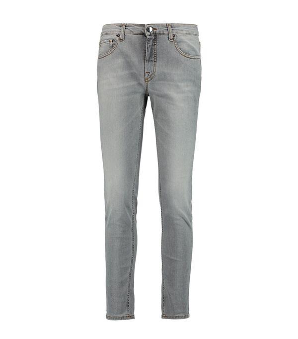 mom and me matching outfits - Victoria Beckham Denim Ankle Slim Mid-Rise Jeans