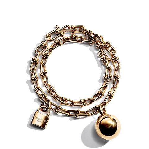 Tiffany City HardWear Wrap Bracelet in 18k Gold, Medium
