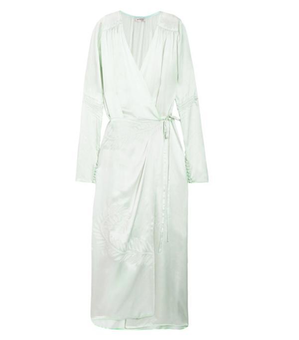 New style icons: Attico Wrap Dress