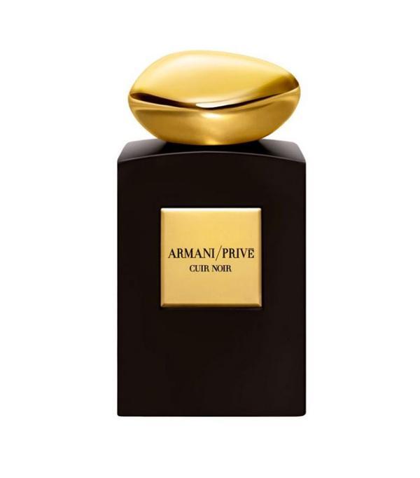best unusual perfume: Armani/Prive Cuir Noir