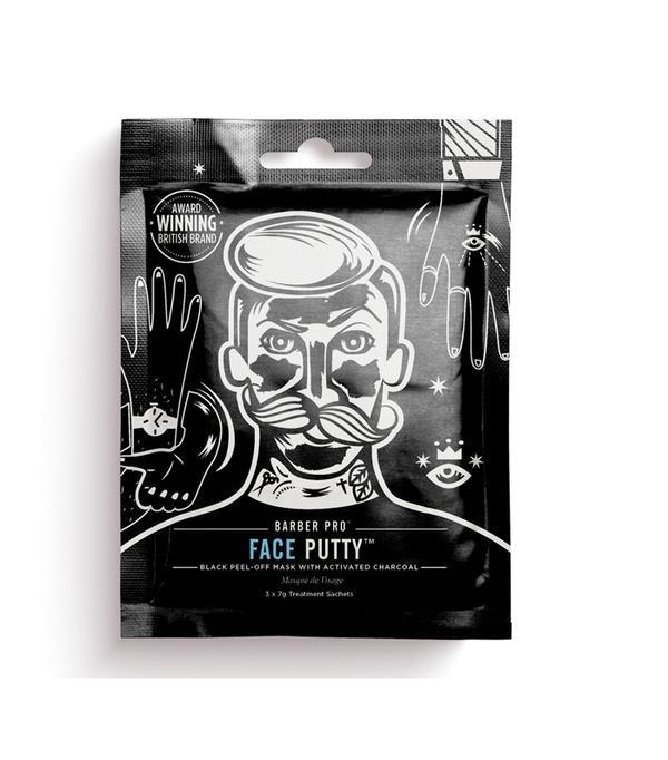 Best peel-off face masks: Barber Pro Black Peel-Off Mask